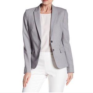 BOSS Hugo Boss light gray career blazer